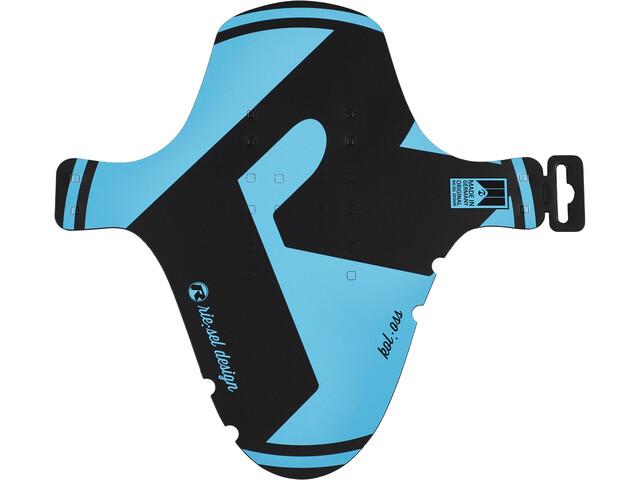 "Riesel Design kol:oss Pare-boue avant 26-29"" Large, blue"